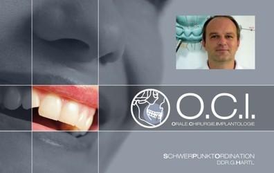 DDr. Georg Hartl, Facharzt für Mund-, Kiefer- und Gesichts-Chirurgie, Orale Chirurgie, Zahnarzt