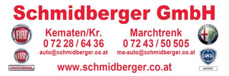 Autohaus SCHMIDBERGER GmbH, Fiat, Alfa Romeo, Fiat Professional, Lancia-Service