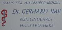 DR. med. univ. Gerhard Imb - ARZT FÜR ALLGEMEINMEDIZIN = HAUSAPOTHEKE