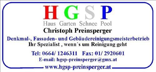 HGSP Denkmal-, Fassaden- und Gebäudereinigungsmeister
