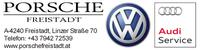 PORSCHE Freistadt, VW und Audi Service