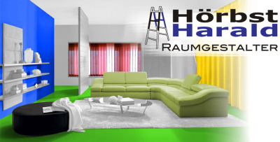 HÖRBST Harald, Raumgestalter, Tapezierermeister in Freistadt. Sonnenschutz, Möbelbezug, Böden, Malerei