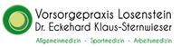 Vorsorgepraxis Losenstein Dr. Eckehard Klaus-Sternwieser Allgemeinmedizin - Sportmedizin