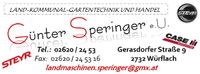 Landtechnik - Reparatur - Handel Günter Speringer