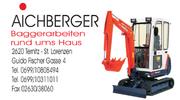 Aichberger - Baggerarbeiten rund ums Haus