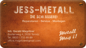 Jess-Metall - Gerald Magritzer