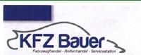 KFZ Bauer Fahrzeughandel - Reifenhandel - Servicestation