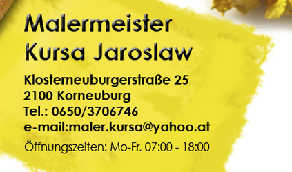 Malermeister Kursa Jaroslaw