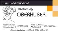 Bestattung Tischlerei Oberhuber
