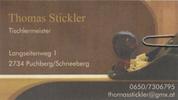 Thomas Stickler - Tischlermeister