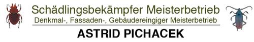 Schädlingsbekämpfer Meisterbetrieb Astrid Pichacek