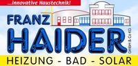 Franz HAIDER, Heizung, Bad, Solar, Installateur in St. Oswald bei Freistadt.