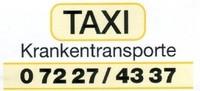 Taxi Krankentransporte Hochstöger