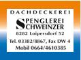 Dachdeckerei Spenglerei Schweinzer