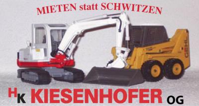 HK KIESENHOFER, Baumaschinenverleih und Baggerungen in St. Oswald bei Freistadt.