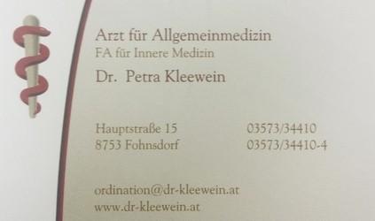 Dr. Petra Kleewein