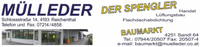 Büro (Der Spengler und Baumarkt MÜLLEDER, Handel, Spenglerei, Lüftungsbau und Flachdachabdichtung in Reichenthal und Sandl bei Freistadt.)