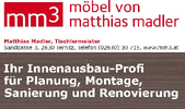 mm³ Matthias Madler - Tischlermeister