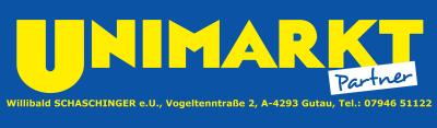 UNIMARKT Partner, Willibald Schaschinger, Lebensmittel, Nahversorger und Partyservice in Gutau bei Freistadt.