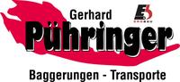 Gerhard PÜHRINGER, Baggerungen, Transporte, Steinmauern, Handel mit Baustoffen in Gutau bei Freistadt.