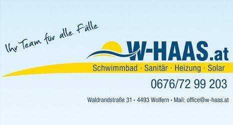 W-Haas  Schwimmbad-Sanitär-Heizung-Solar / Installationen