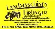 Landmaschinen FIRLINGER, Warchalowski-Service in St. Leonhard bei Freistadt.