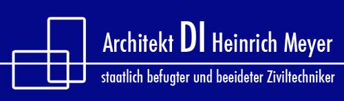 Architekt DI Heinrich Meyer