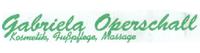 Gabriela Operschall - Kosmetik - Fußpflege - Massage