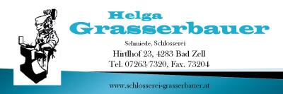 Schmiede - Schlosserei Helga GRASSERBAUER in Bad Zell im Bezirk Freistadt.