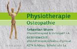 Physiotherapie, Osteopathie Sebastian WURM, Physiotherapeut und Osteopath i.A. in Schönau im Bezirk Freistadt.