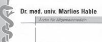 Dr. med. univ. Marlies Hable - Ärztin für Allgemeinmedizin