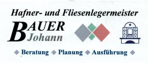 Hafner- und Fliesenlegermeister Bauer Johann