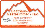 Gasthaus & Taxi Langreiter
