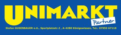 UNIMARKT Partner, Stefan GUSENBAUER e.U., Lebensmittel, Nahversorger in Königswiesen im Bezirk Freistadt.