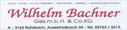 Wilhelm Bachner Ges.m.b.H. & Co.KG