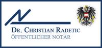 Dr. Christian Radetic, Öffentlicher Notar
