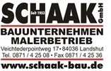 Schaak GmbH Bauunternehmen Malerbetrieb