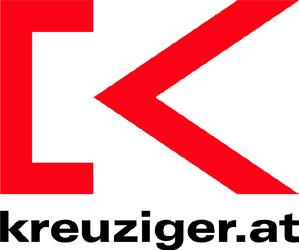 KREUZIGER Malermeister, Fassade, Farbe, Boden, Beschattung, Schrift in Hausmening bei Amstetten.