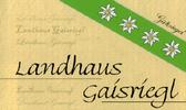 Landhaus Gaisriegl