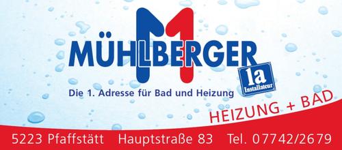 MÜHLBERGER, Installateur, HEIZUNG + BAD, Pfaffstätt