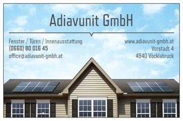 Adiavunit Bauunternehmen - Fenster - Türen - Innenausstattung