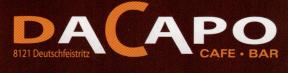 Da Capo | Cafe - Bar