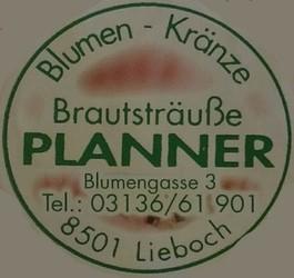 Blumen - Kränze Brautsträuße Planner