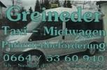 Greineder Taxi Mietwagen 0664 / 5360940
