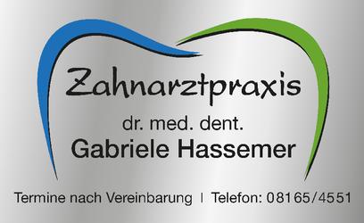 dr. med. dent. Gabriele Hassemer Zahnärztin
