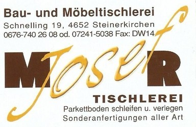 Fa. Josef MOSER Bau- u. Möbeltischlerei, Parkettverleger