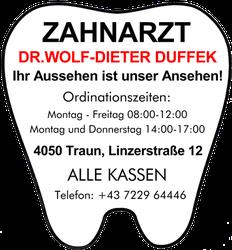 Dr. Wolf-Dieter & Dr. Alexander DUFFEK, Zahnarzt in Traun