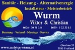 Meister Wurm | Sanitär - Heizung Alternativenergie