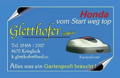 Gletthofer GmbH Farben, Lacke, Elektro, Gartenwerkzeug, Waffen, Munition, Fischereigeräte