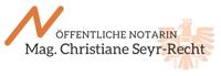 Öffentliche Notarin Mag. Christiane Seyr-Recht